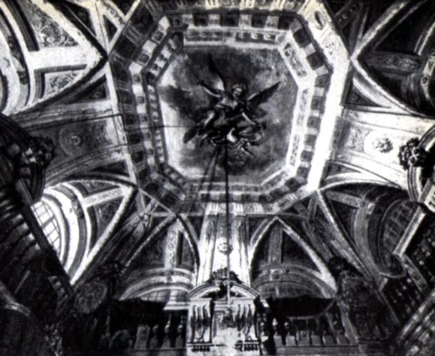 Palazzo Comunale. soffitto della sala III detta di Pio IX