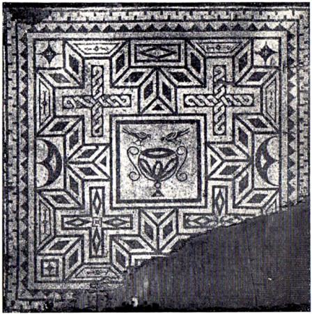 Pavimento romano a mosaico (Museo Civico)