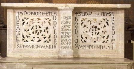 Altare Bizantino di Santa Maria in Regola.