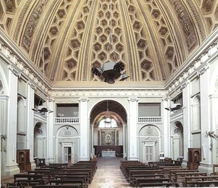Aula di Santa Maria in Regola.