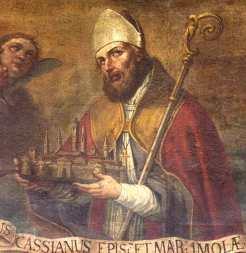 Un santo, nella fattispecie Cassiano