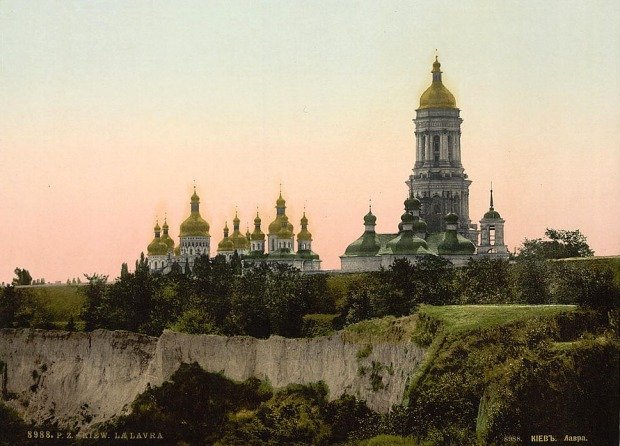19th-century_Kiev_Pechersk_Lavra