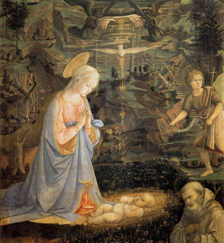 Filippo Lippi Adorazione di Camaldoli San-Romualdo